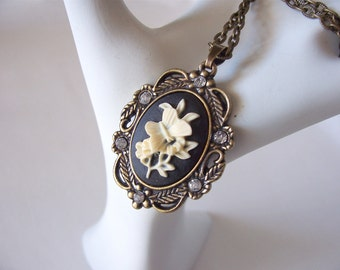 cameo necklace, butterfly necklace, gothic necklaces, sale,pendant necklace, fashion jewelry, Spring 2016 fashion trends, great gift idea