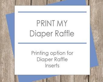 Print My Diaper Raffle Cards