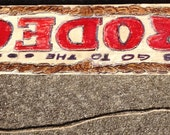 Sports Related - Lets Go To The Rodeo - Sign