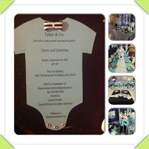 Tiffany And Co. Baby Shower By WHOSINVITED On Etsy