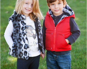 Great Outdoors Reversible Vest Sewing Pattern