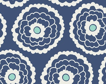 1 Yard Essentials Girl About Town Navy by Pat Bravo for Art Gallery Fabrics