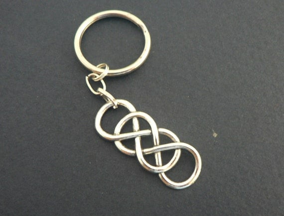Double Infinity Symbol Key Chain Eternal Love by ...