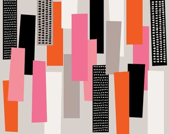 Simple Shapes No1, open edition giclee print