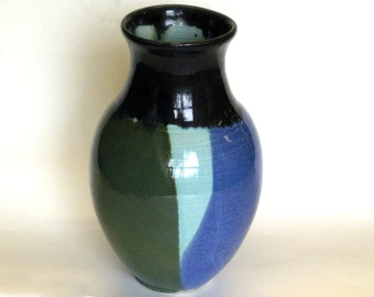 Tall Forest Vase