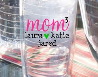 Personalized Tumbler- Mom Power