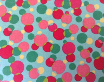 Cotton Fabric - Dots Multi colors - 4 yards