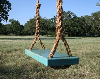 Medium Blue Tree Swing