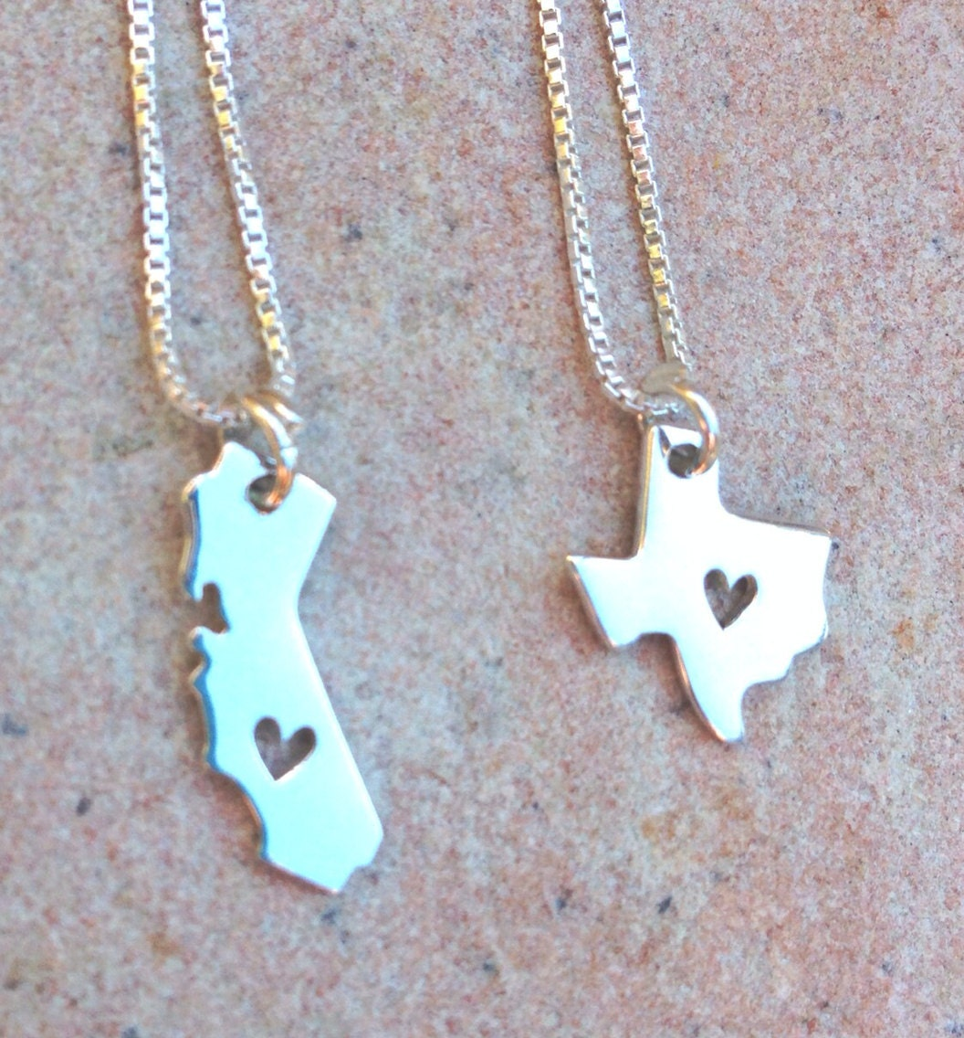 state necklace state jewelry i my state by natashaaloha