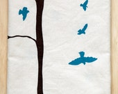 Bird + Tree Kitchen Towel