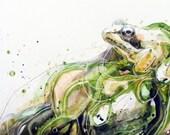 For Regina: Wood Frog