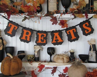 TREATS Banner for Halloween