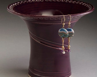 Amethyst Purple Earring Holder