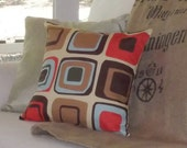 Geometric Graphic Fall Autumn Pillow Covers Set of 3. Dorm. Sorority. Teen. Gifts for Men. Man Cave. Patio. Outdoor Kitchen. CLEARANCE.