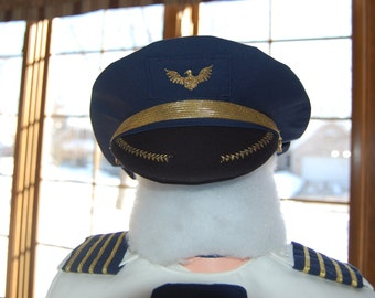 Airline Pilot Hat -- The Little Captain