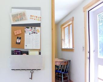 Popular items for magnetic whiteboard on etsy for Modern cork board