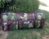 Forest Camoflauge nap sack, play mat - KidCozy
