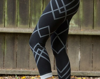 Leggings, Printed Leggings, Circus Diamond Leggings