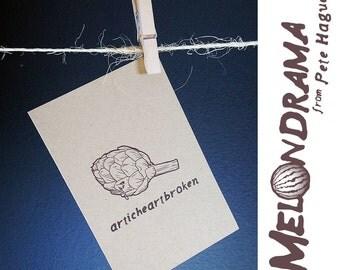 Articheartbroken - MELONDRAMA - Blank Card