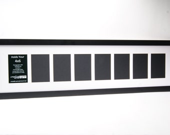 2 3 4 5 6 7 8 9 10 multi opening black picture frame with mat to hold 4x6 photographs for your personalized name wedding or collage