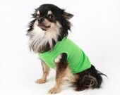 Dog clothes neon Summer Soild Tank pet shirts in all sizes!