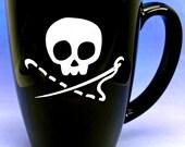 Sewing Skull 14 oz Coffee Mug