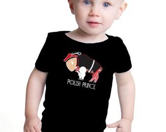 Boy Polish Infant One Piece Buffalo Polish Prince Cute