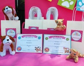 Cat and Dog Adoption Certificates - Instant Download - Meow, Sit Stay and Play Collection