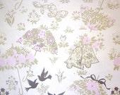 Vintage Gift Wrap - Bridal Shower - One Full sheet - Hallmark