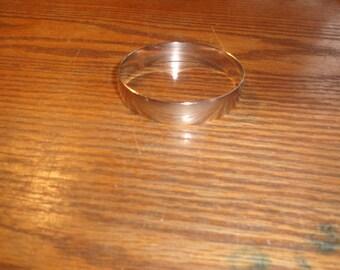 vintage bracelet bangle silvertone
