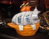Orange Ship Sugar Bowl