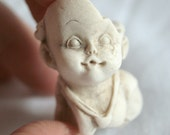 Rare Artefact, Seaglass, Pottery, Porcelain, Beach Find, Doll, Boy, Face, Unusual, Toy, Collectible, Weird, Vintage, Antique, 18th Century
