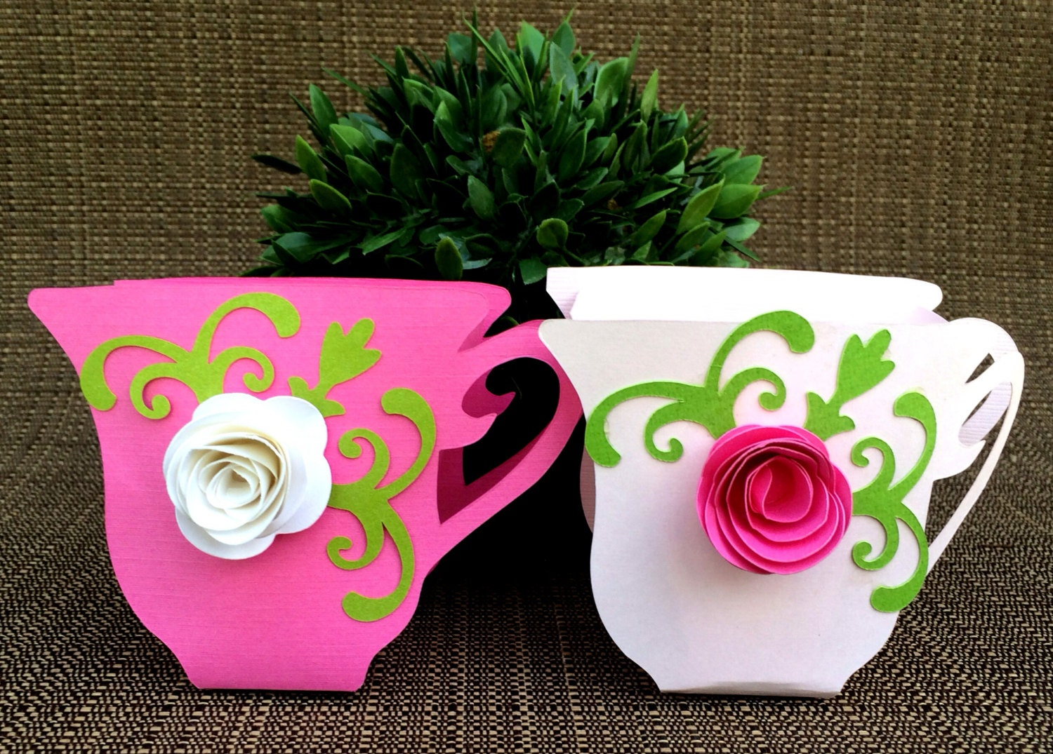 Tea cup party favors set of 12 by kristinescreationssd on etsy for Teacup party favors