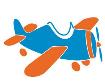 airplane wall stencil for aviation themed boys wall decor 441a stencil - Stencils For Boys