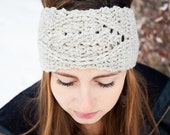Instant Download - CROCHET PATTERN PDF - Cabled Crochet Earwarmer - Permission To Sell Finished Items