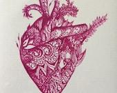 Henna Heart Postcard (set of 10)