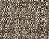 Two Tone Plain Dobby Weave - Work Horse Upholstery Fabric - High Performance Fabric - Color: Toasted Marshmellow-  1 yard