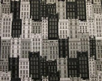 London Buildings NYC Big Building UK Items Cotton Fabric Fat Quarter or Custom Listing
