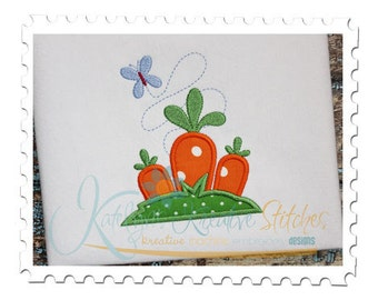 Spring Carrots Applique