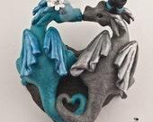 Dragons Custom Wedding Cake Topper