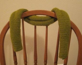 Pea Green Scarf