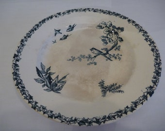 French Ironstone Compote