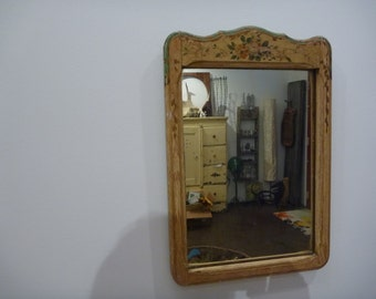 Painted Hanging Mirror