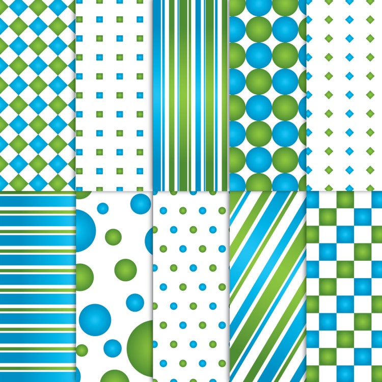 blue and green scrapbook paper printable by blackcherryprintable. Black Bedroom Furniture Sets. Home Design Ideas
