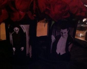 Vampire wedding Centerpiece