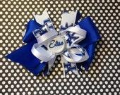 University of Kentucky Wildcats Sports Blue Bottle Cap Hair Bow