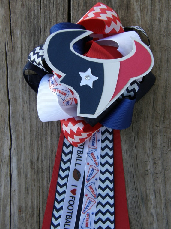 Houston Texan Baby Shower Huoston Texan Mum By Bonbow On Etsy