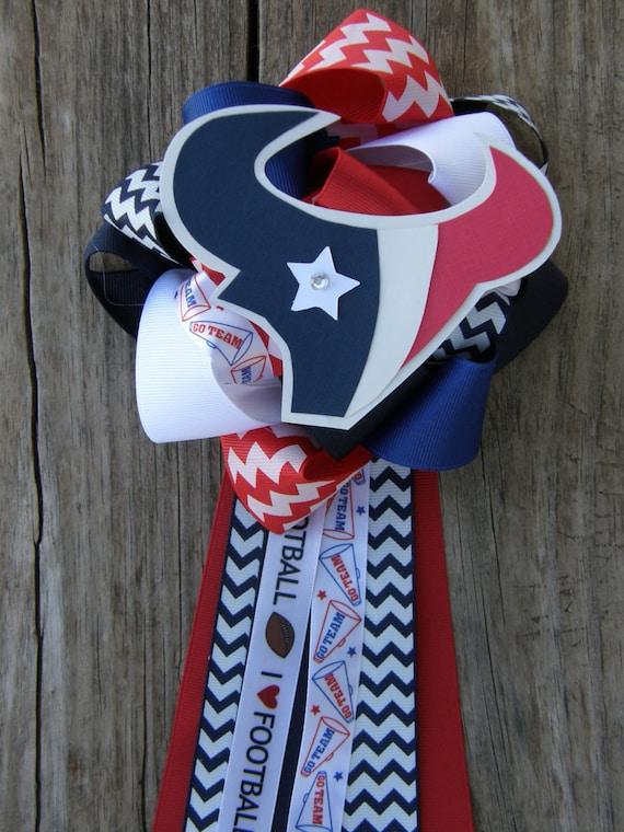 Houston Texan Baby Shower Huoston Texan Mum By Bonbow On Etsy