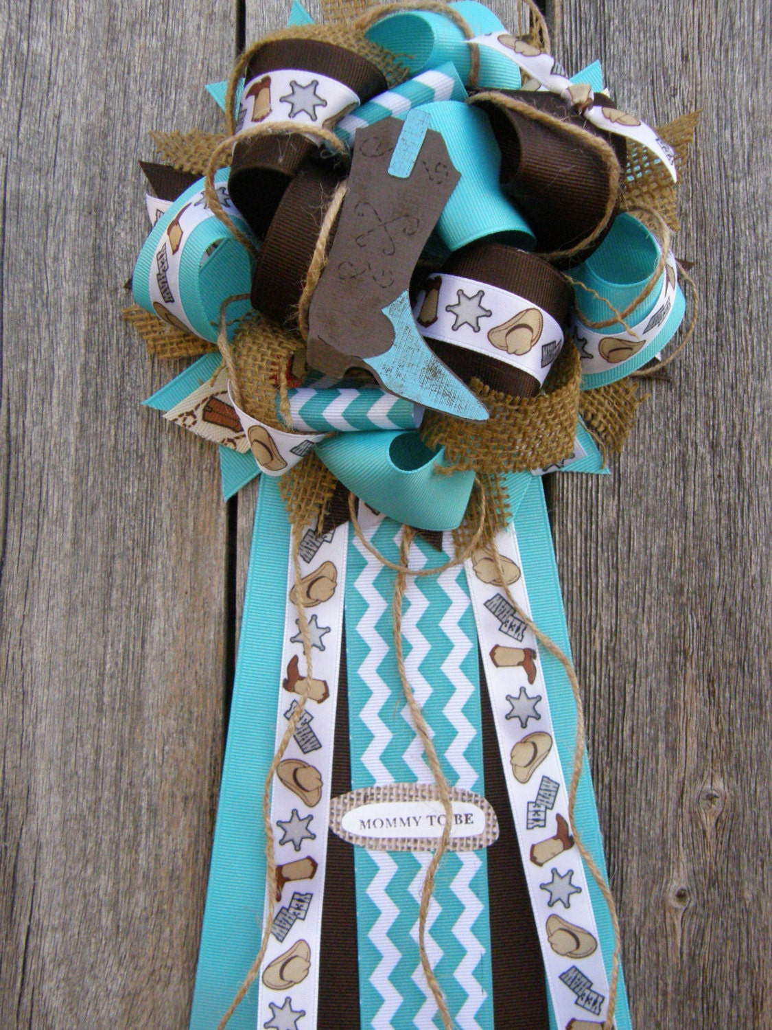 cow boy baby shower western mum by bonbow on etsy