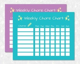 download chore chart